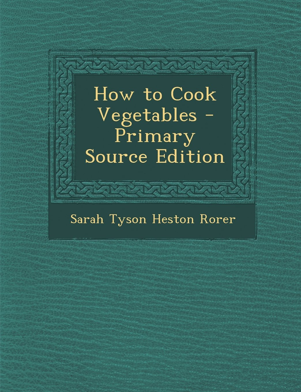 Download How to Cook Vegetables pdf