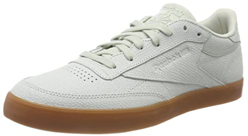a69a3107b80 Reebok Women s s Club C 85 FVS Ps Desert Low-Top Sneakers Green (Eucalyptus