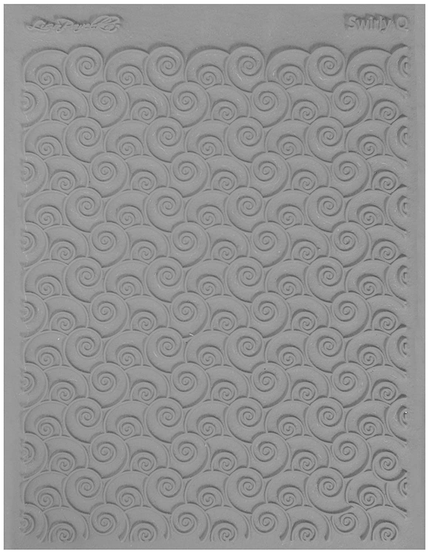 JHB International Inc Lisa Pavelka 527101 Texture Stamp Swirley Q