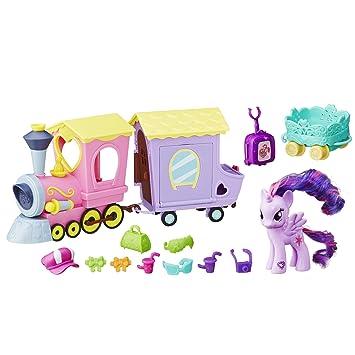 Amazon.es: My Little Pony B5363 Explore Equestria Friendship Express - Tren: Juguetes y juegos