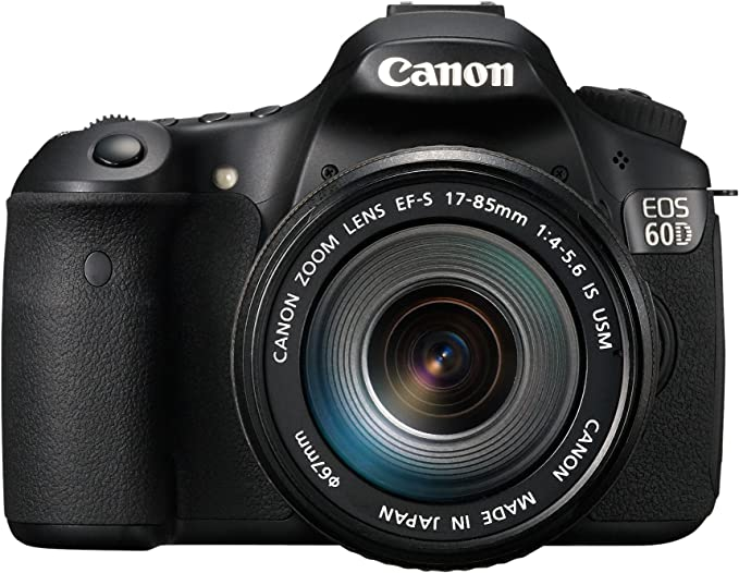 Canon EOS 60D - Cámara réflex digital de 18 MP (pantalla 3 ...