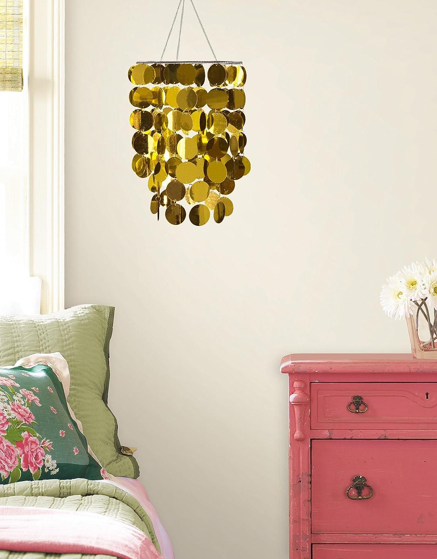 Brewster Home Fashions Accessories Gold Eclipse Chandelier Metallic WPC1764