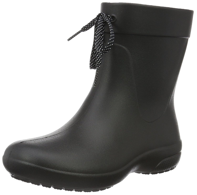 Crocs (Black) Freesail Shorty Rain Boots, Crocs Bottes Femme Shorty Noir (Black) 18601ea - conorscully.space