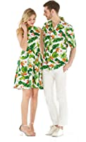 Hawaii Hangover Couple Matching Hawaiian Luau Cruise Outfit Shirt Vintage Dress Classic White