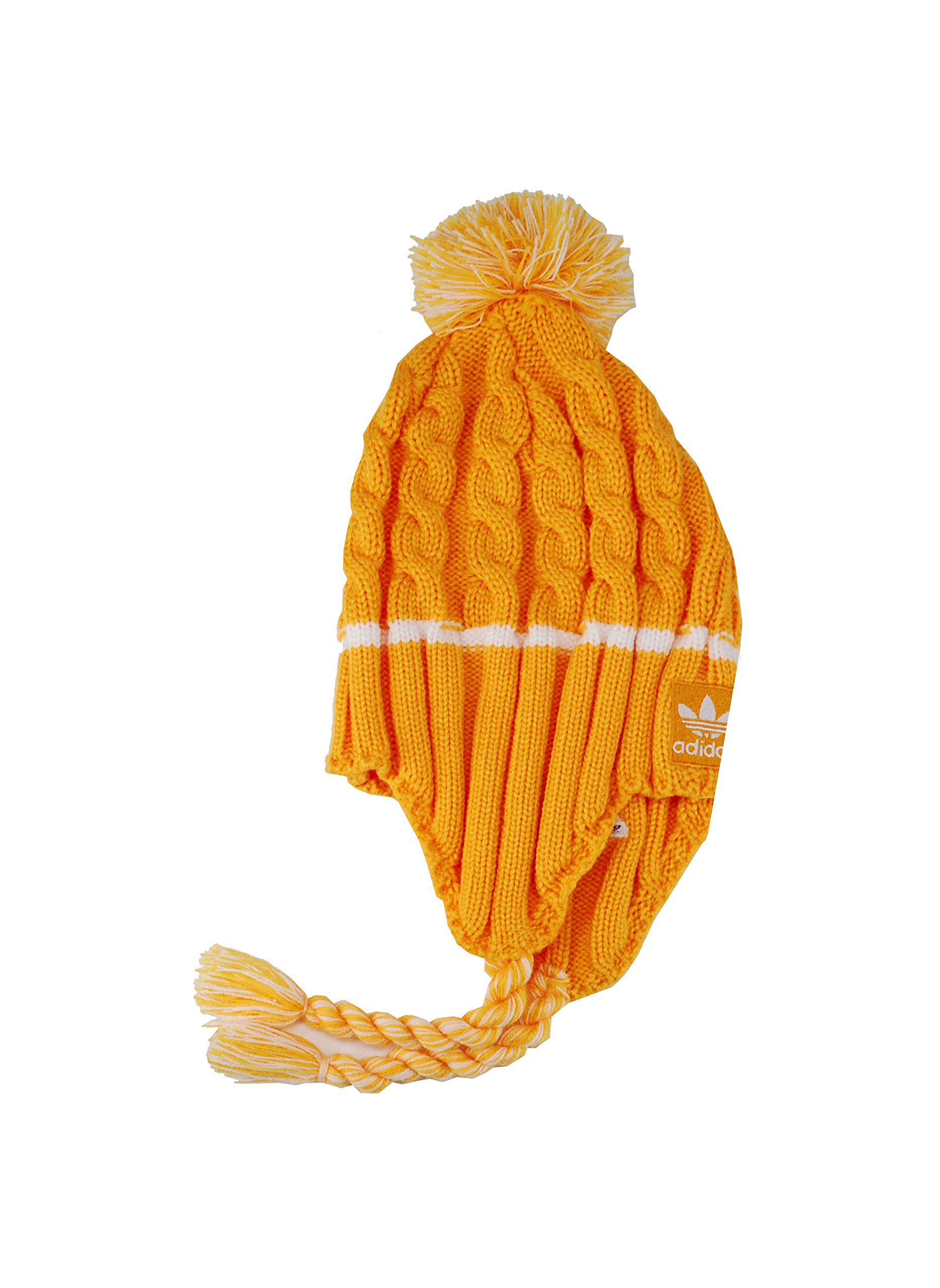 Adidas Kid's Los Angeles Lakers Headwear Tassle Gold/White Beanie by adidas (Image #2)