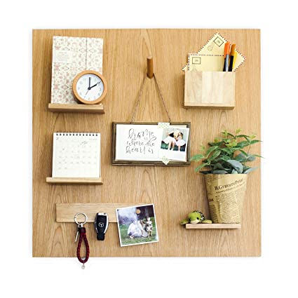 Amazon Com Everboards Wooden Magnetic Organizer Inspiring
