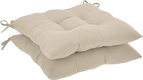 Amazon Basics Tufted Outdoor Square Seat Patio Cushion