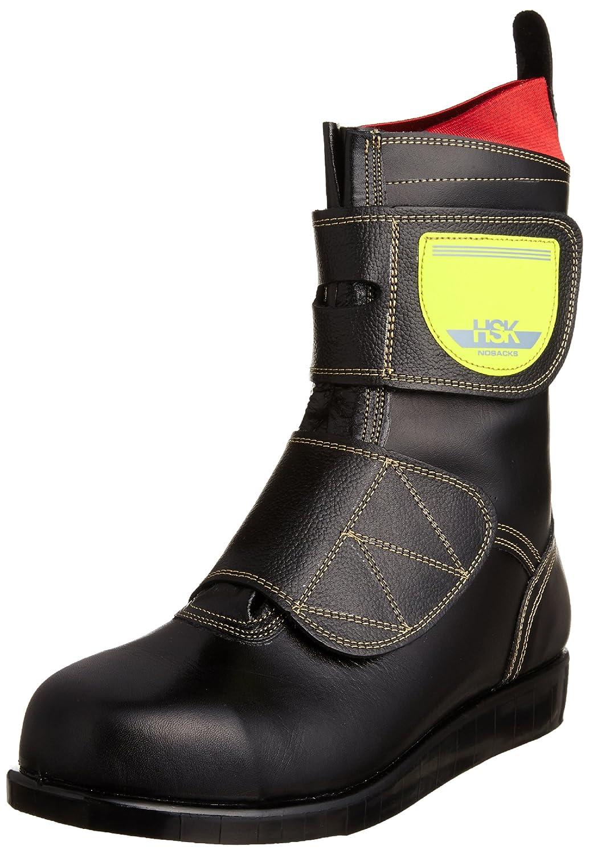 [ノサックス] Nosacks 舗装靴 HSKマジック マジック式 道路舗装用 安全靴 ブーツ B003QVA398 24.5 cm|ブラック ブラック 24.5 cm