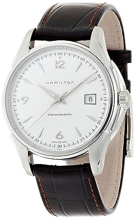 6e0f66756a1 Amazon.com  Hamilton Men s Jazzmaster Viewmatic H32515555 Watch ...