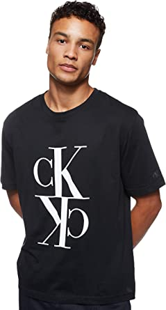 Calvin Klein Mirrored Monogram Reg tee Camisa para Hombre: Amazon.es: Ropa y accesorios