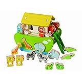 EverEarth 32686 Arca di Noè con animali di ordinamento Destrezza giocattoli