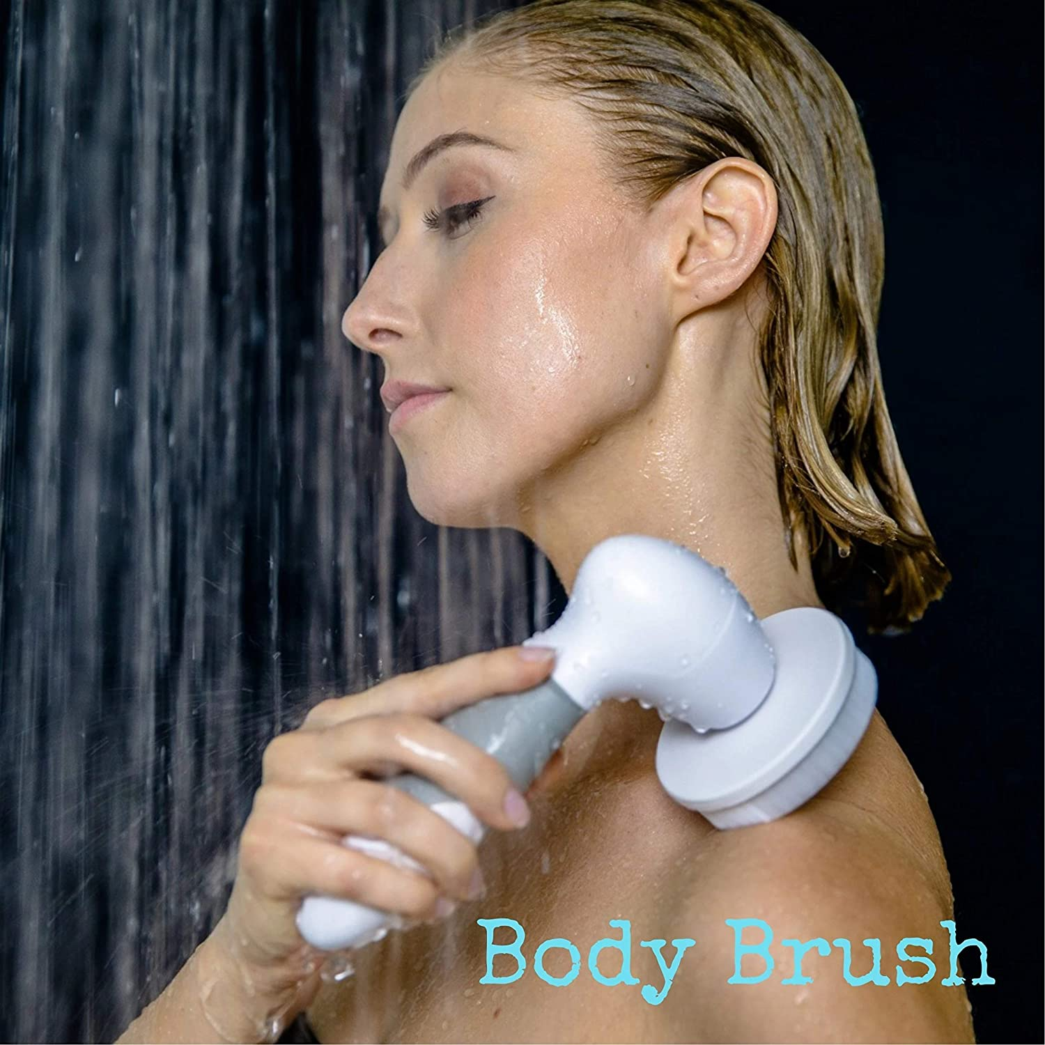 Facial Cleansing Brush, Waterproof Electric 4 in 1 Spin Brush Set For Face And Body