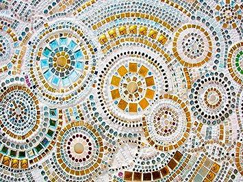 Oedim Tapis Carpette En Pvc Motifs Imitation Carrelage Mosaique