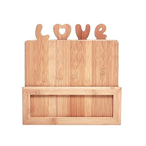 Romance Helpers Kitchen Wooden Cutting Boards Great Wedding Gifts For The Couple With 4 Bamboo Cutting Boards Unique Kitchen Accessories Gift For