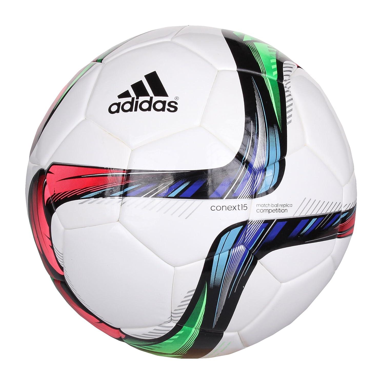 adidas Conext15 Compet Balón, Unisex, Negro (Blanco/nocdes/Verdes ...