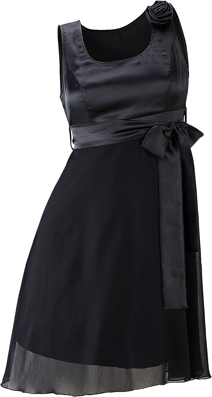 Body Flirt - Vestido - Falda con Peto - Sin Mangas - para Mujer ...