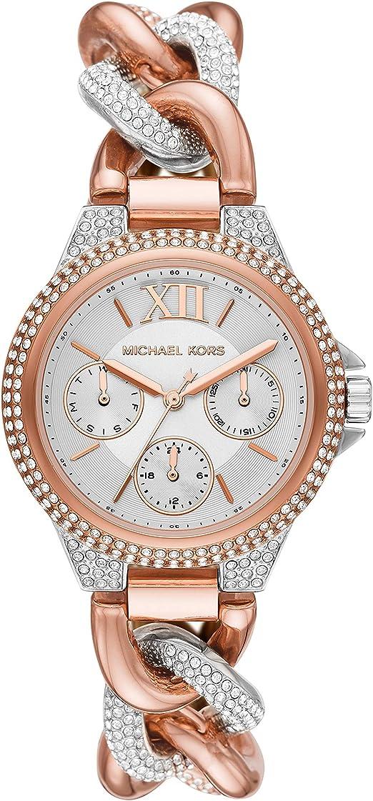 Orologio donna Michael kors camille multifunzione in acciaio inox con glitz accents mk6843