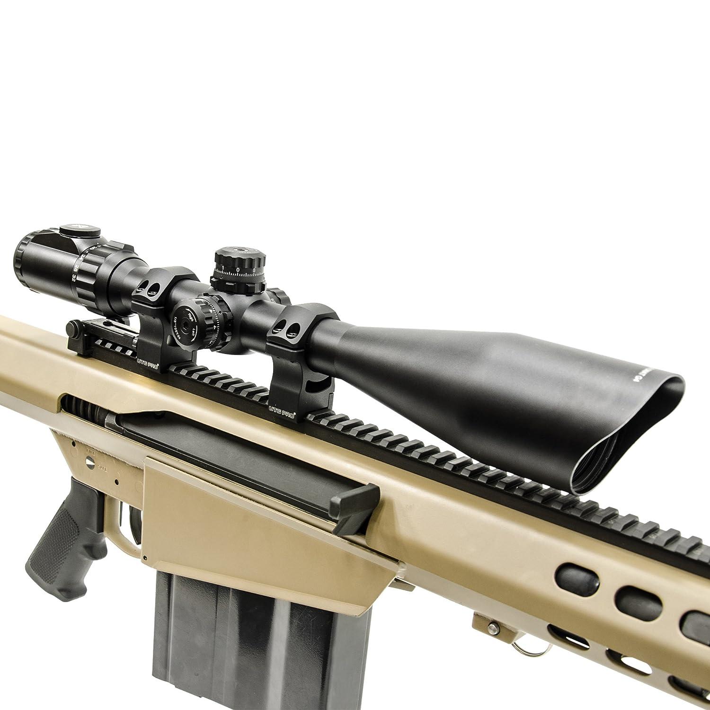 Leapers UTG Pro High Profile 30mm Picatinny Rifle Scope Mounts Rings RWU013022