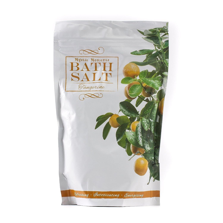 Bath Salt - Tangerine - 1Kg Mystic Moments SALTRTANG1K