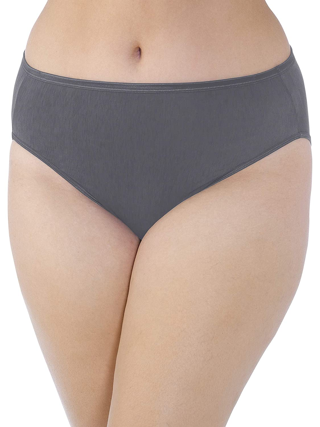 Vanity Fair Womens Plus-Size Illumination Hi Cut Plus Size Panty 13810