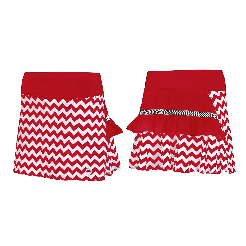 Amazon.com: AdEdge Performance Woven Tennis Skirt-Chevron Print: Clothing