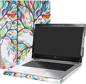 "Alapmk Protective Case Cover for 13.3"" HP EliteBook x360 1030 G2 Laptop(Warning:Not fit HP EliteBook x360 1020 G2/EliteBook 1030 G1/EliteBook x360 1030 G3 G4),Love Tree"