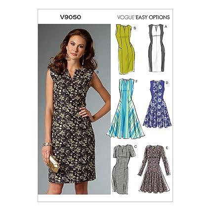 V9050 Patron de couture Vogue à coudre, élégant, extravagant, moderne