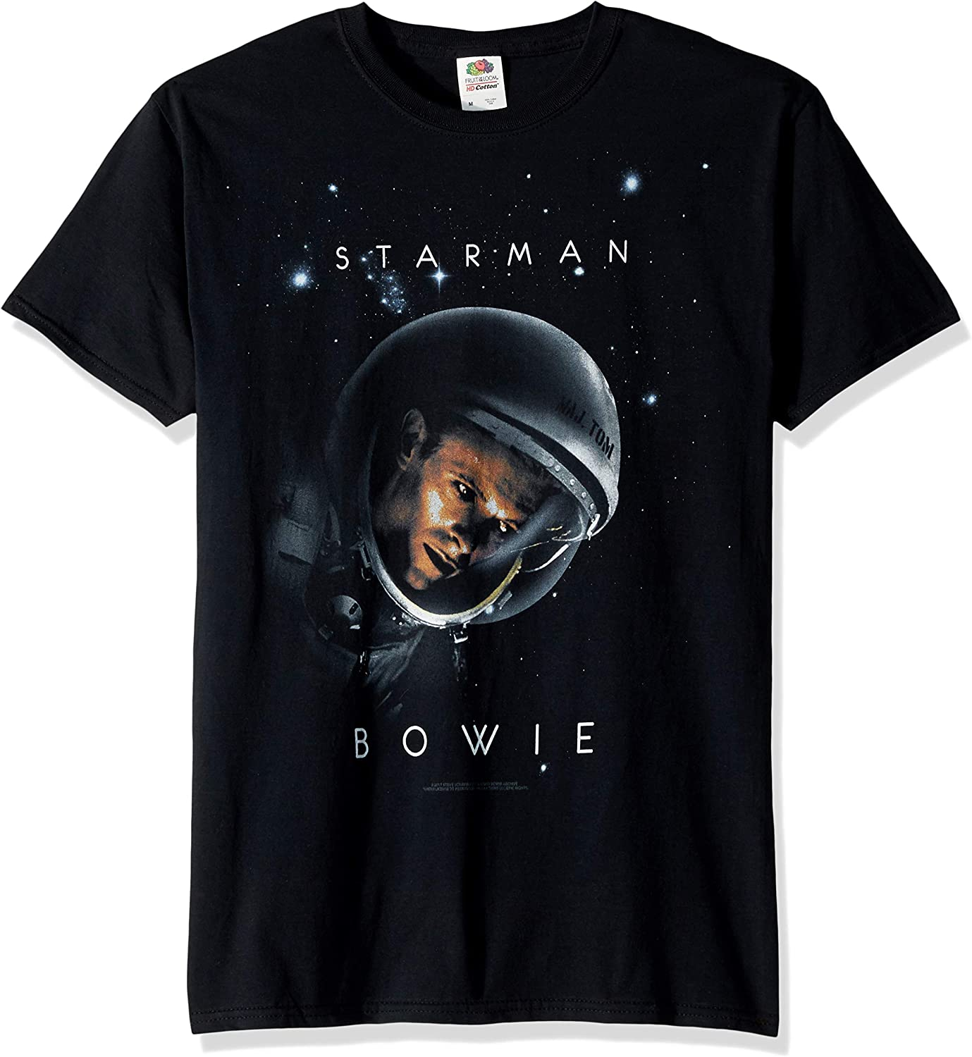 Liquid Blue David Bowie Starman Short Sleeve T-Shirt