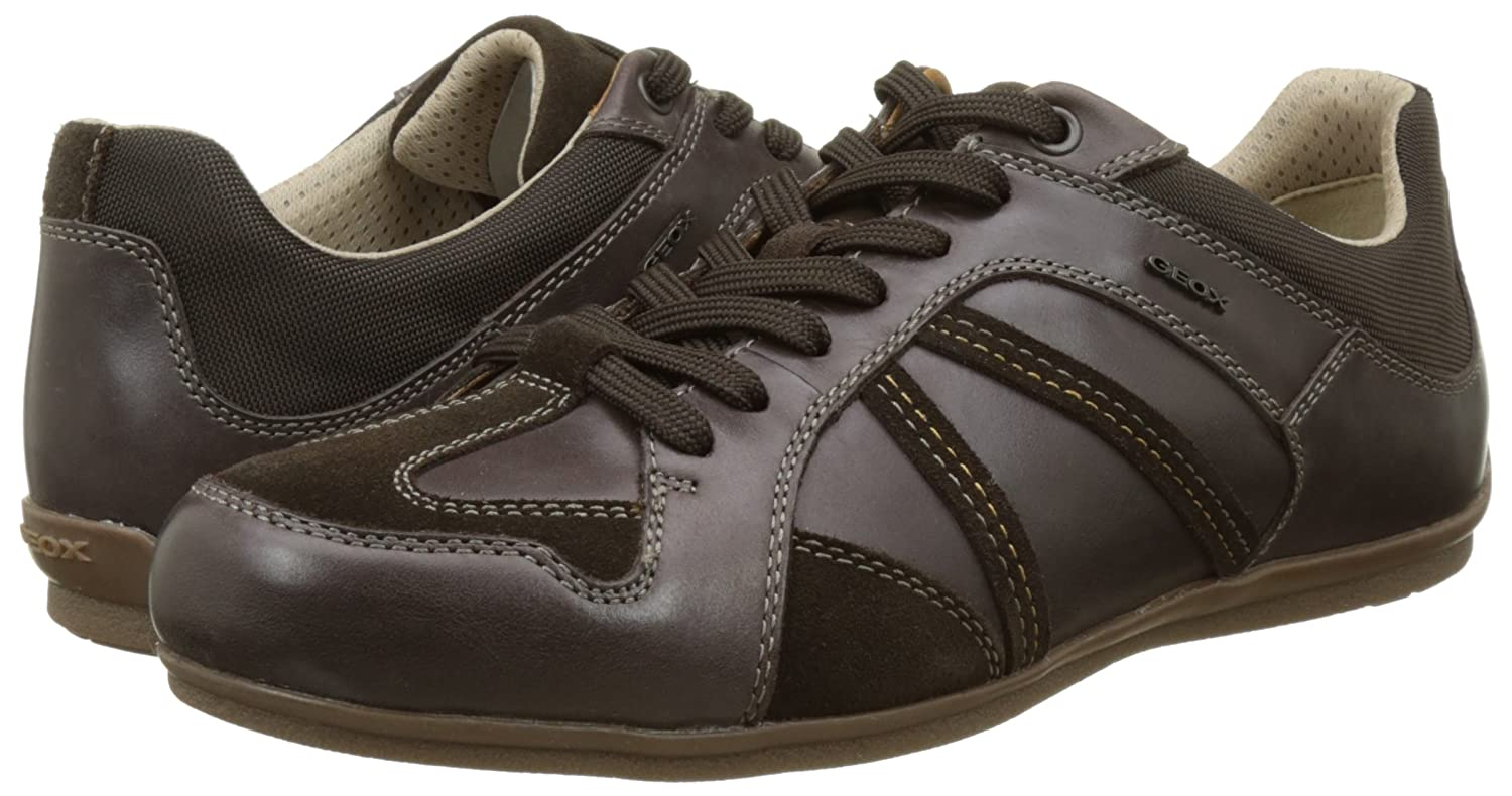 | Geox U Houston A Mens Leather SneakersShoes