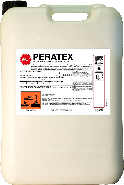 Elios - PERATEX sanitizzante peracetico kg.25 - tanica kg.25