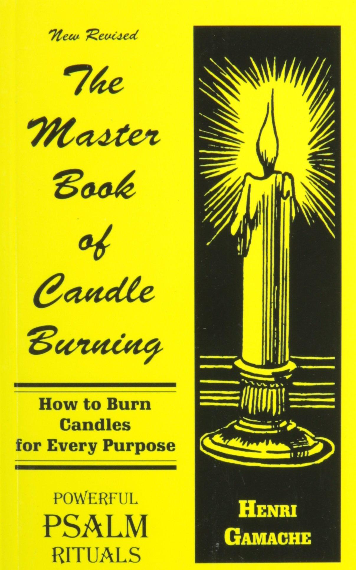 Master Book of Candle Burning: Henry Gamache: 9780942272062: Amazon