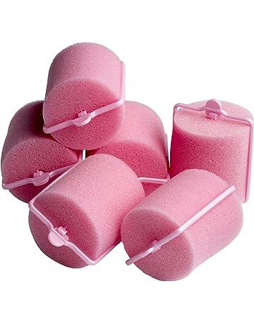 BaByliss 591369U - Rulo para el pelo, 6 unidades, color rosa