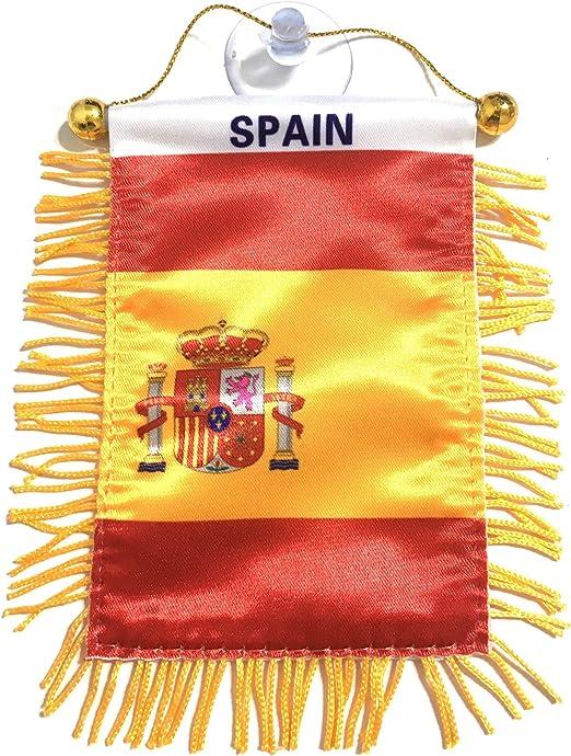 Banderas de España para espejo retrovisor interior de coche o para ...