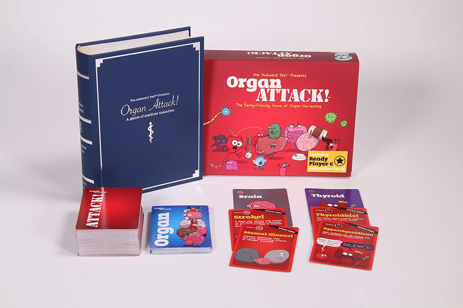 OrganATTACK! Tabletop Card Game by The Awkward Yeti