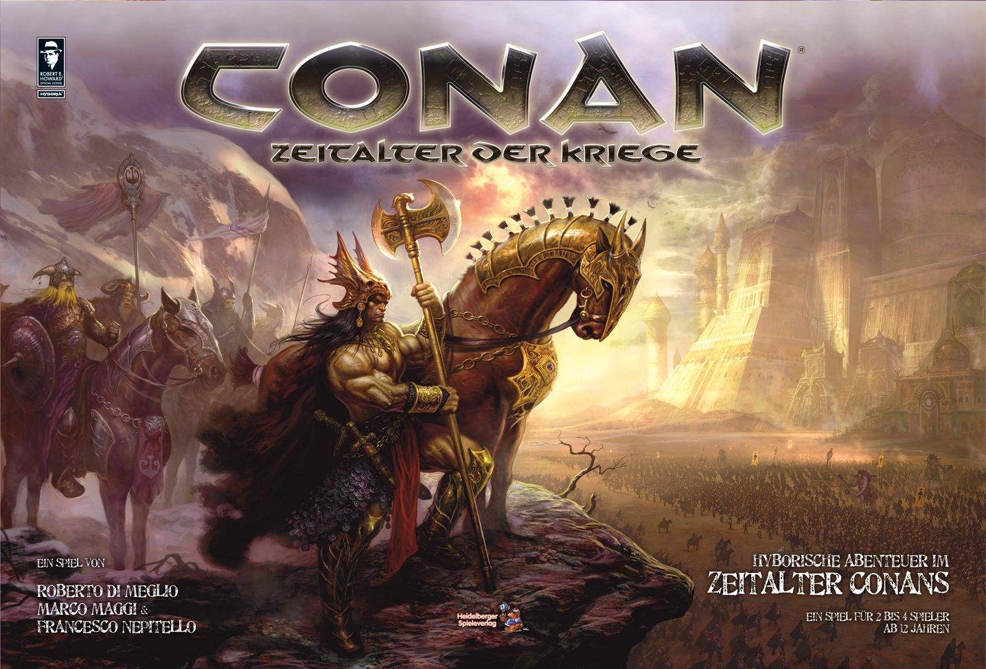Heidelberger Spieleverlag HE163 Conan - Juego de Mesa [Importado ...