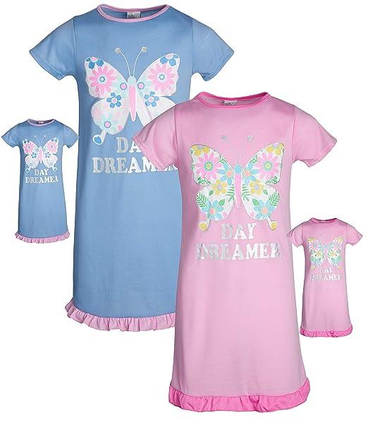 Amazon.com: BFF & ME Conjunto de pijama para niñas con ...