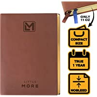 A5 Bullet Planner for Organization and Productivity - Personal Weekly Diary 2018/2019 - NO Date Dotted Notebook Journal - Life Schedule Agenda Calendar Planner Organizer for Men Women