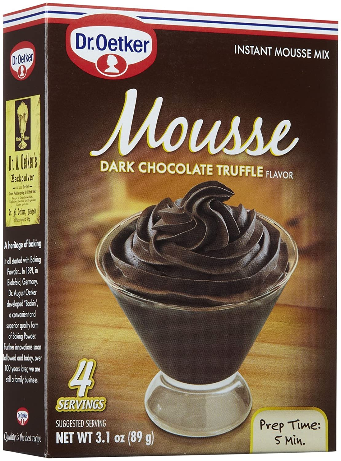 Com Dr Oatker Dark Chocolate Truffle Mousse Supreme 3 1 Oz Grocery Gourmet Food