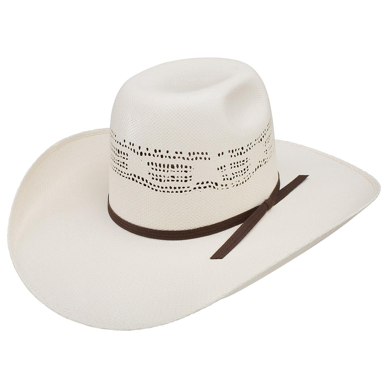 Resistol Mens Super Duty 4 1//4 Brim Straw Cowboy Hat 71//4 Natural
