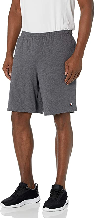 "Champion Men's 9"" Jersey Short with Pockets   Amazon"