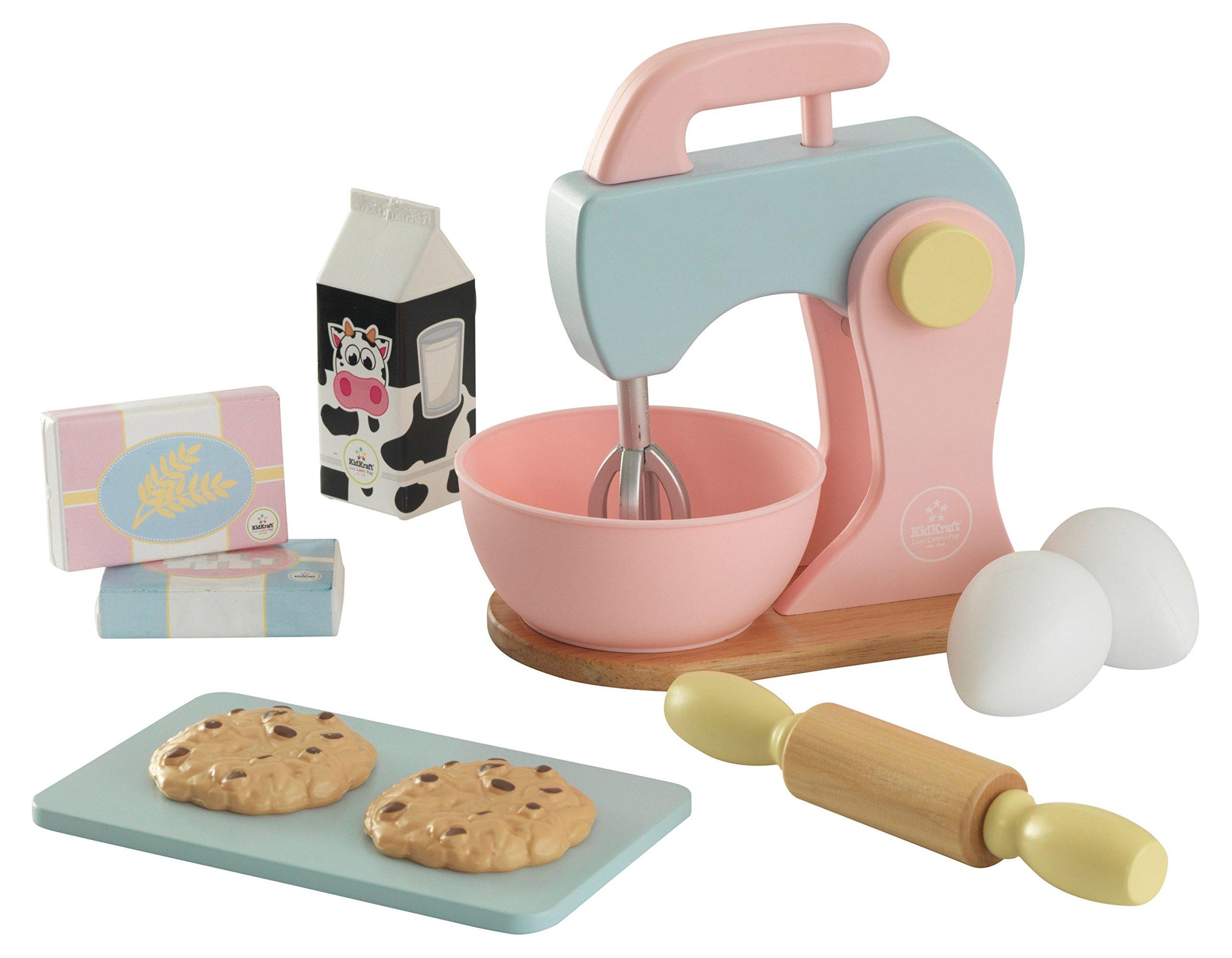 KidKraft Children's Baking Set - Pastel Role Play Toys for The Kitchen by KidKraft
