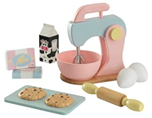 KidKraft Children's Baking Set - Pastel Role Play Toys for The Kitchen