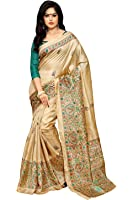 Applecreation Khadi Silk Saree (Mdb8404-D_Beige)