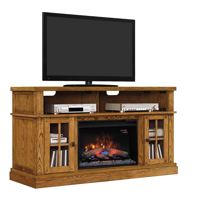 amazon com classicflame dakota tv stand for tvs up to 65
