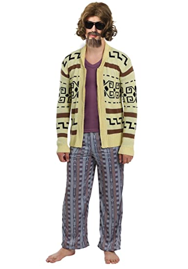 Amazon.com  The Big Lebowski The Dude Mens Sweater Costume Small  Clothing 00545184f