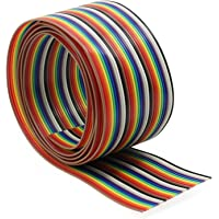 Aussel Ribbon Cable 1.27mm Rainbow Color Flat Cable