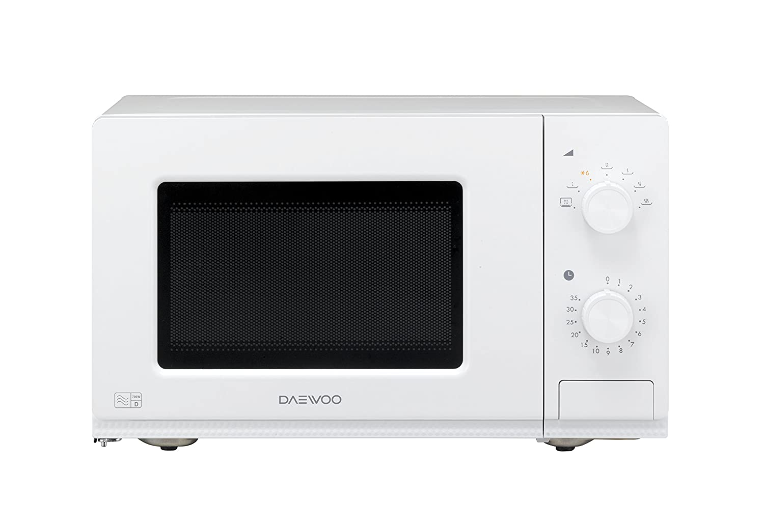 Daewoo Manual Microwave Oven, 20 Litre, White: Amazon.co.uk: Kitchen