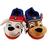 Paw Patrol Chase and Marshall Slippers for Boys or Girls