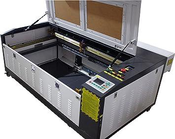 TEN-HIGH 1060 90W Máquina de corte y de grabado por láser, con escritorio pequeño, versión offline. Cortador DIY 1000x600mm 39.37x23.62 pulgadas: Amazon.es: Bricolaje y herramientas