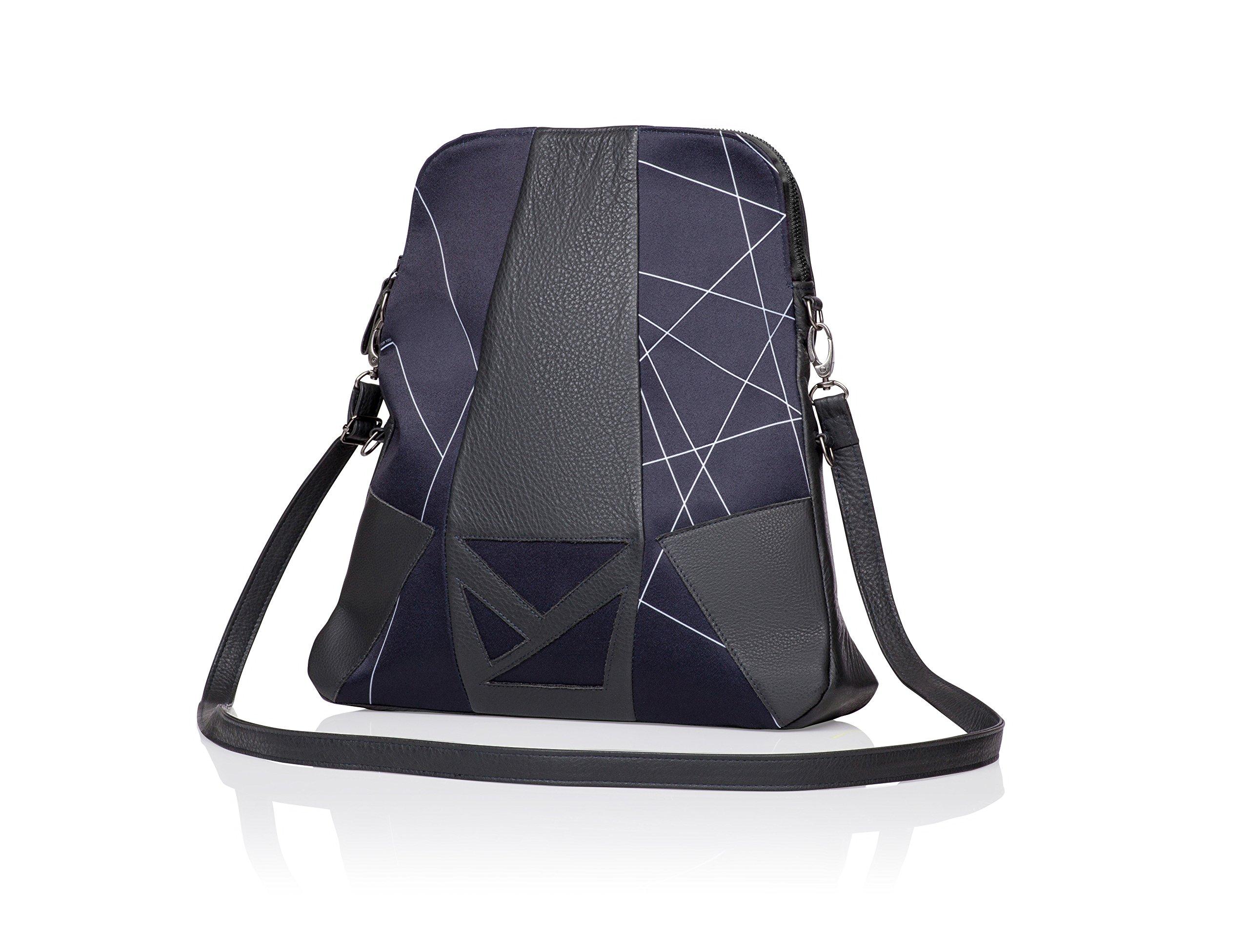 JoJo Handbags BECCA Convertible Backpack - Gray